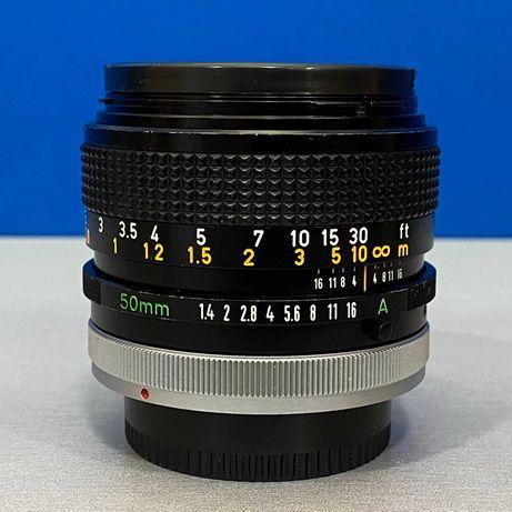 Canon FD 50mm f/1.4 S.S.C. (Adapt.EOS R/Fuji/Sony/MFT/Nikon Z)