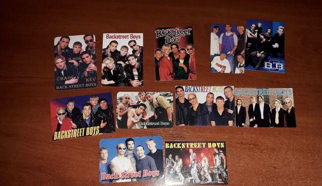 Календарики Backstreet Boys и NSYNC можно поштучно