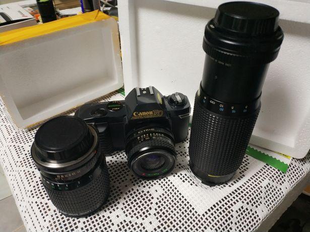 Canon T50 + 3 lentes