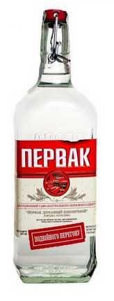 """Водочная б/у бутылка 0,5 л """"Первак"""""""