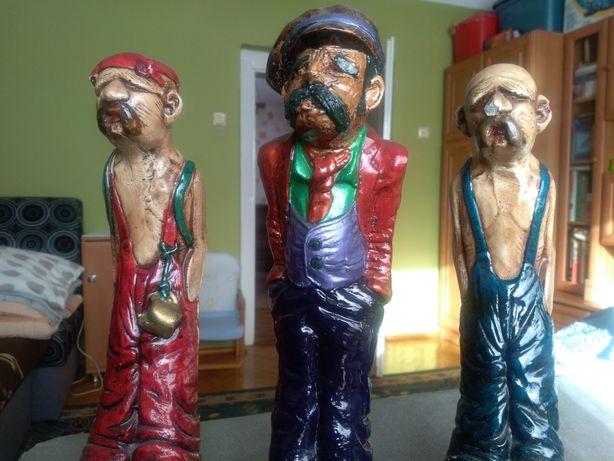 Trzy figurki wszystkie za 15 zl