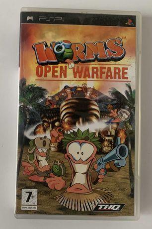 Worms Open Warfire PSP