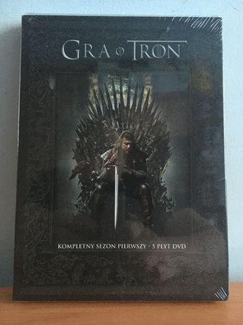 Gra o Tron - Game of Thrones - Sezon 1 - HBO - Nowy - Folia