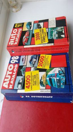 Продам 2 редких каталога об авто.