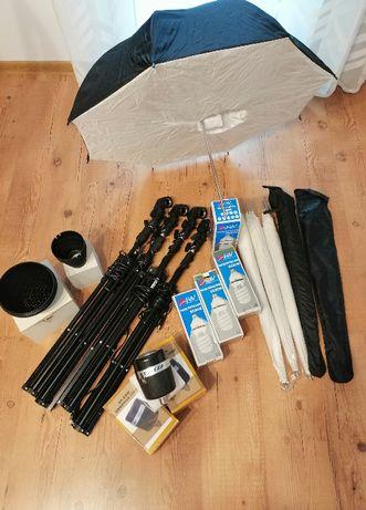 Sprzedam sprzęt studyjny (fotograficzny) zestaw 2