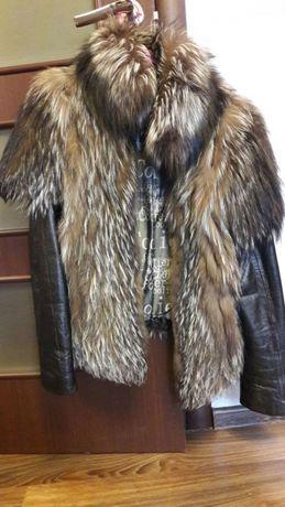 Жилетка куртка чернобурка