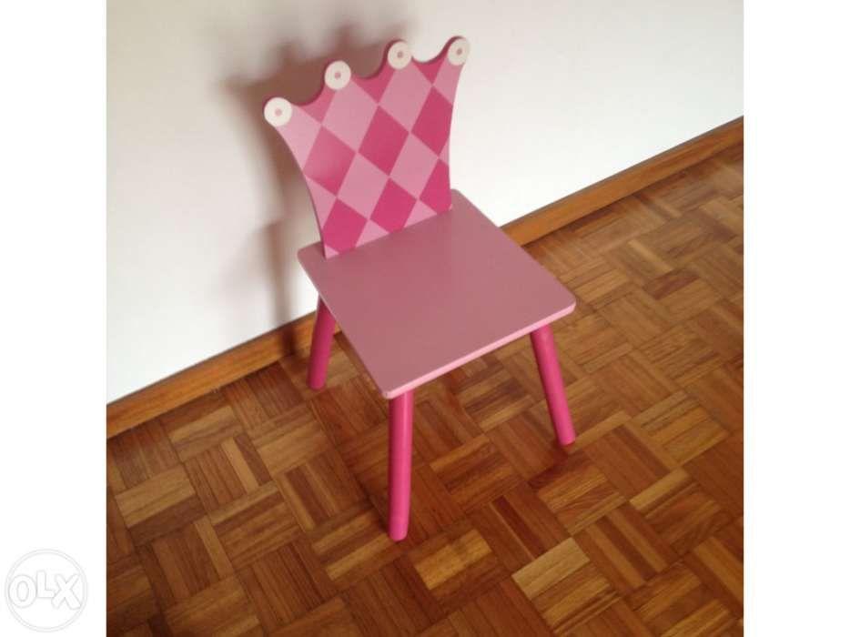 Cadeira princesa para menina