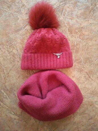 Зимние шапочки для девочки! Акция 100 руб.