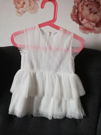 Biala Sukienka rozmiar 80