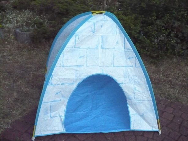 Namiot igloo, bardzo lekki