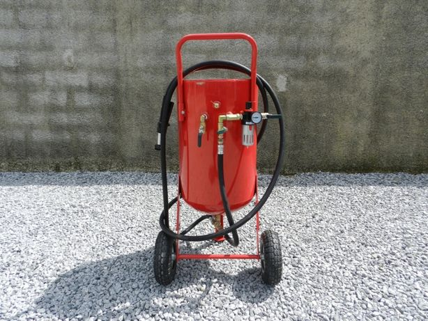 Máquina de decapagem (Jacto de areia) de 100 litros