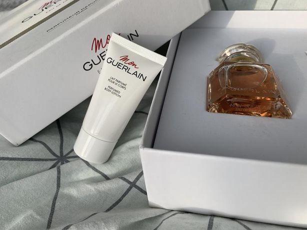 Продам Guerlain Mon набор женский парфюм 30 мл и лосьен молочко 75 мл