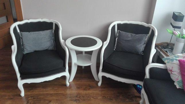 Sofa +2 fotele o stylu Ludwika