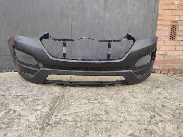 Бампер передний Hyundai Santa Fe 2012-