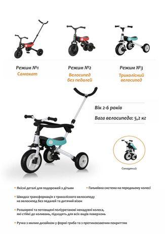 Дитячий велосипед трансформер 3 в 1 Nadle SL-A2