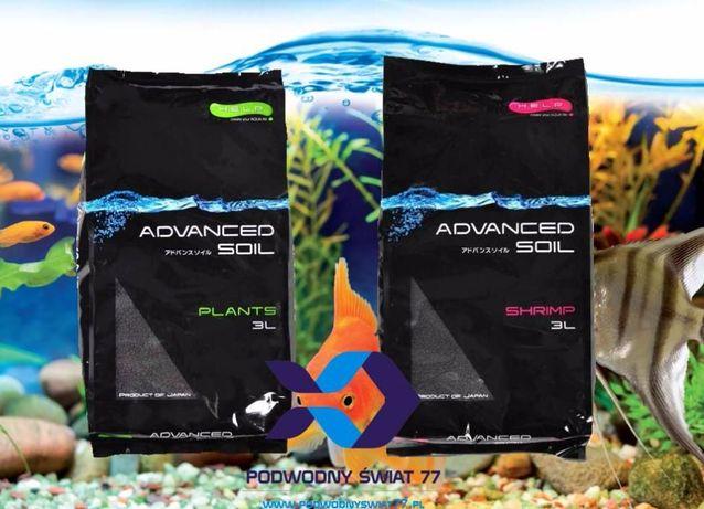 Podłoże aktywne H.E.L.P. Advance Soil Orginal Plant Shrimp 3L akwarium