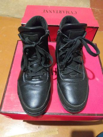 Ботинки кожаные 700р