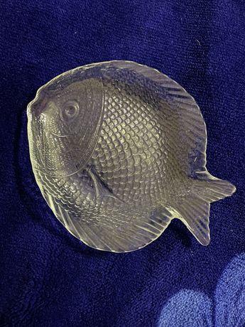 Блюдо Pasabahce Marine в форме рыбы