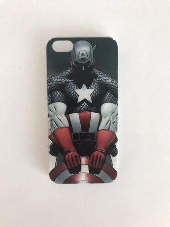 "Чехол на айфон 5/5s ""Капитан Америка"""
