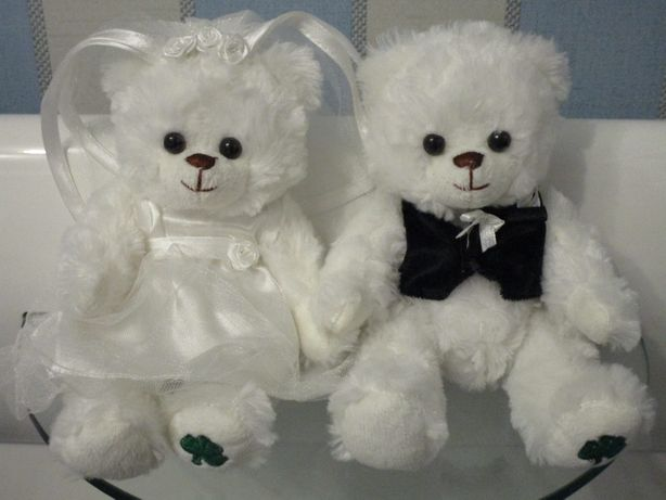 Мишки Жених и Невеста. Свадебные мишки Donnelly