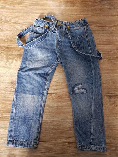 Spodnie zara 98cm