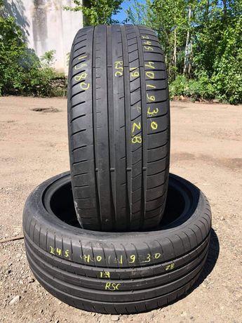 Літні шини 245/40 R19 GoodYear Eagle F1 RSC/2шт/2019рік/6+мм