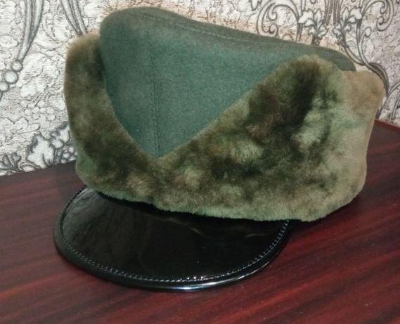Шапка зимова з овчини ЗСУ