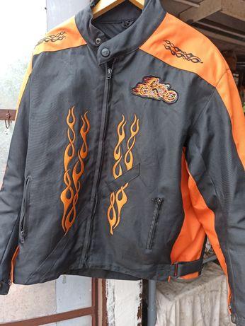 Мото куртка XL с защитой