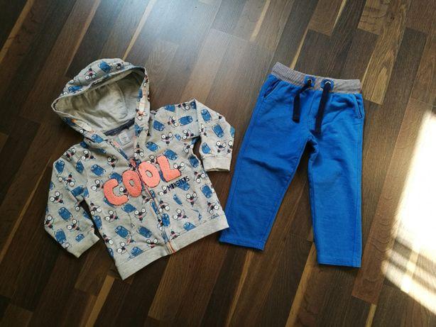 Bluza i spodnie Cool Club r.92/98