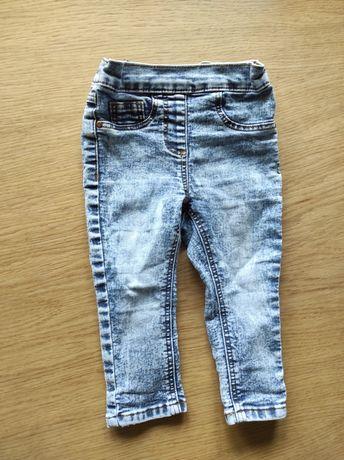 Spodnie dżinsowe NEXT, r. 80