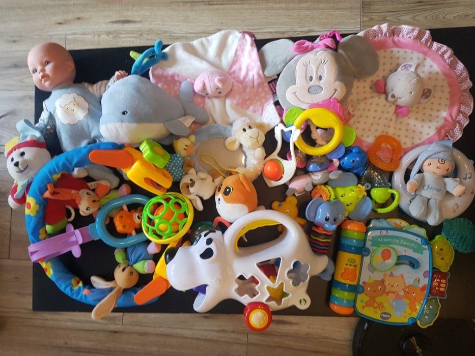 Zabawki 0-12 dla dziewczynki, grzechotki Łódź - image 1