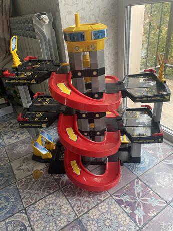 Продам детский гараж, 5 уровней
