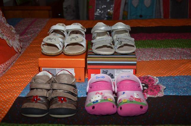 BAIXA PREÇO - Lote de calçado de menina - Tamanhos 22 e 23
