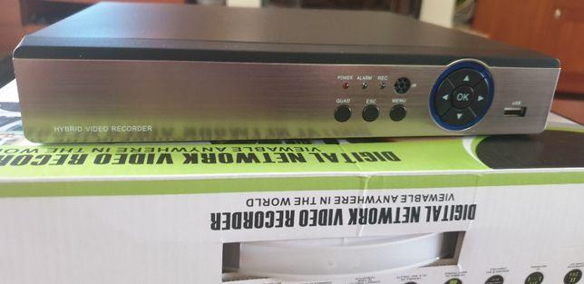 Rejestrator sieciowy kamer NVR IP 32 KANAŁOWY 4K 2xHDD