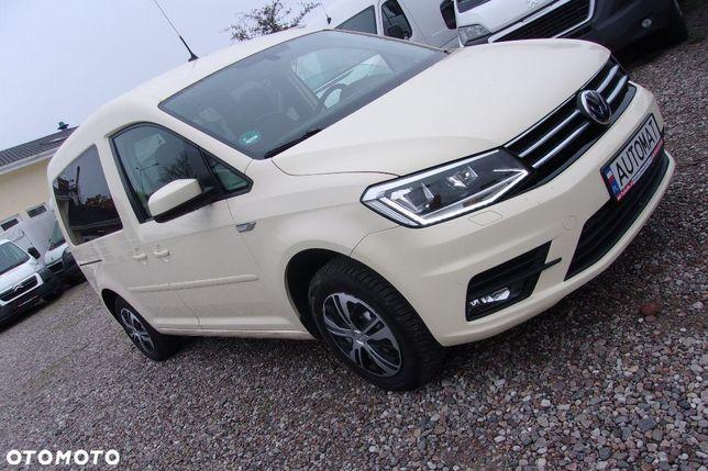 Volkswagen Caddy Automat Dsg 2xklimatronic Navi Ledy Pdc