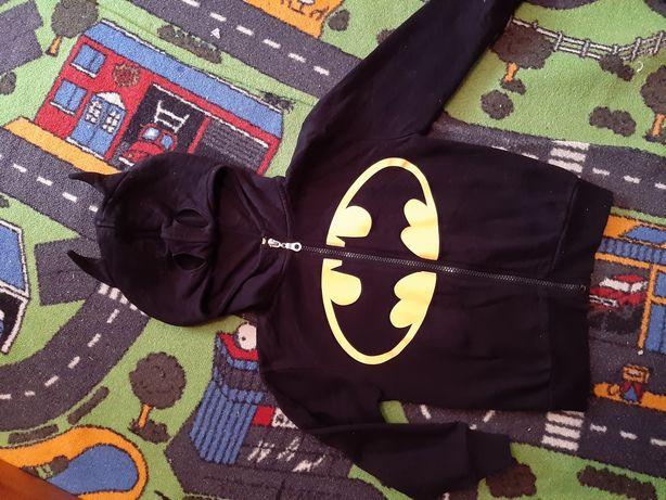 Кофта пайта утепленная batman 3-4-5 лет