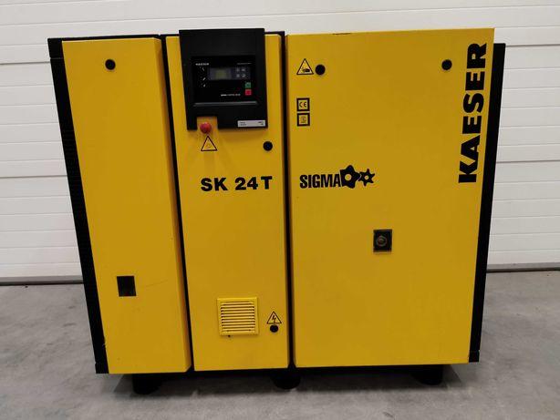 Sprężarka śrubowa KAESER 15kw kompresor 2500l/min + OSUSZACZ 8 bar