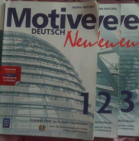Podręcznik do języka niemieckiego MOTIVE DEUTSCH NEW