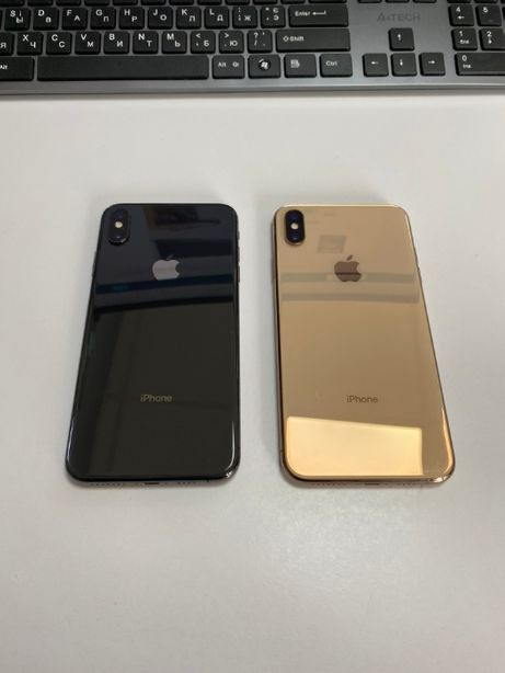 IPhone XS MAX space grey/gold 256gb