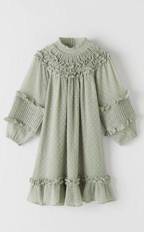 Новое платье Zara на девочку 11-12 лет,152 р,нарядное,monsoon,h&m