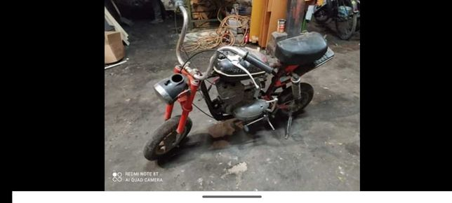 Motorynka z silnikiem wsk