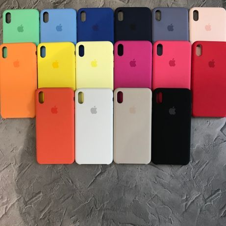 Чехол Apple Silicone Case для iPhone 7/8/7+/8+/X/Xs/Xs Max Original