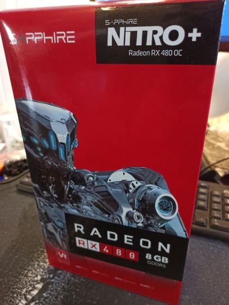 Видеокарта Sapphire Nitro+ Radeon RX 480 OC 8Gb GDDR5