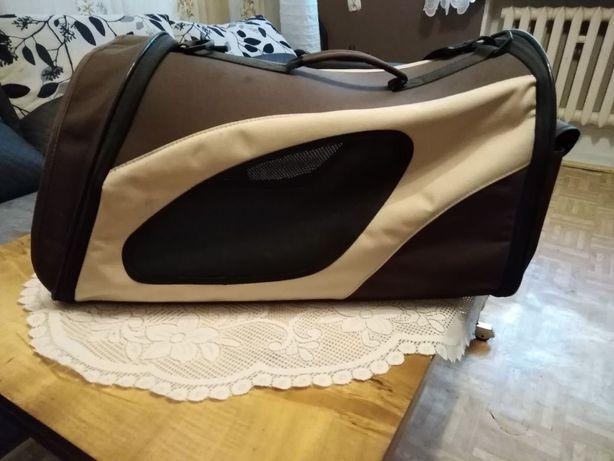 Torba transportowa dla psa plus torba na karmę itp