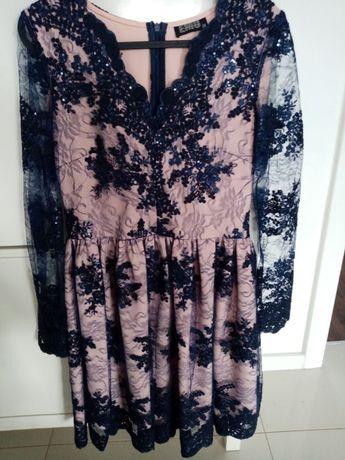 Sukienka damska koronkowa