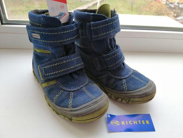 Зимние - деми ботинки сапожки Richter Рихтер 27 размер