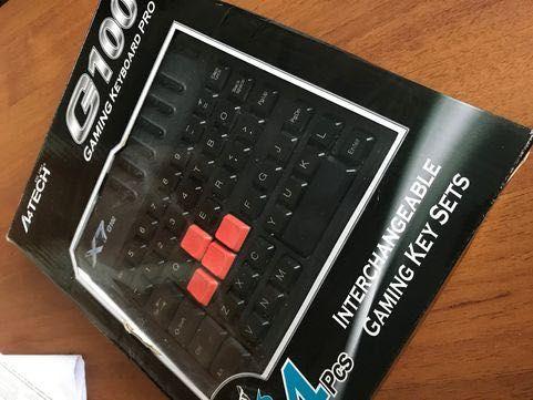 Клавиатура A4Tech X7 G100 USB
