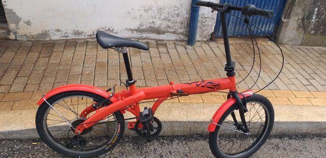 Bicicleta dobrável roda 20 6 Velocidades