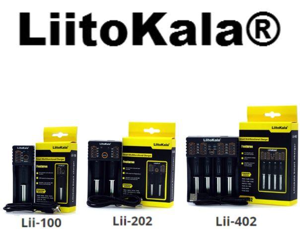 Зарядное устройство LiitoKala Lii-100,202,402,500