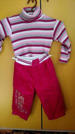 Гольф+ штани зимові на 1-2 роки